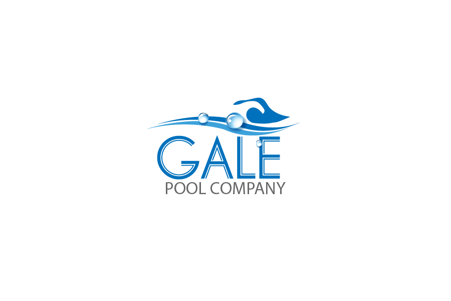 Logo Design by Private User - Entry No. 53 in the Logo Design Contest Imaginative Logo Design for Gale Pool Company.