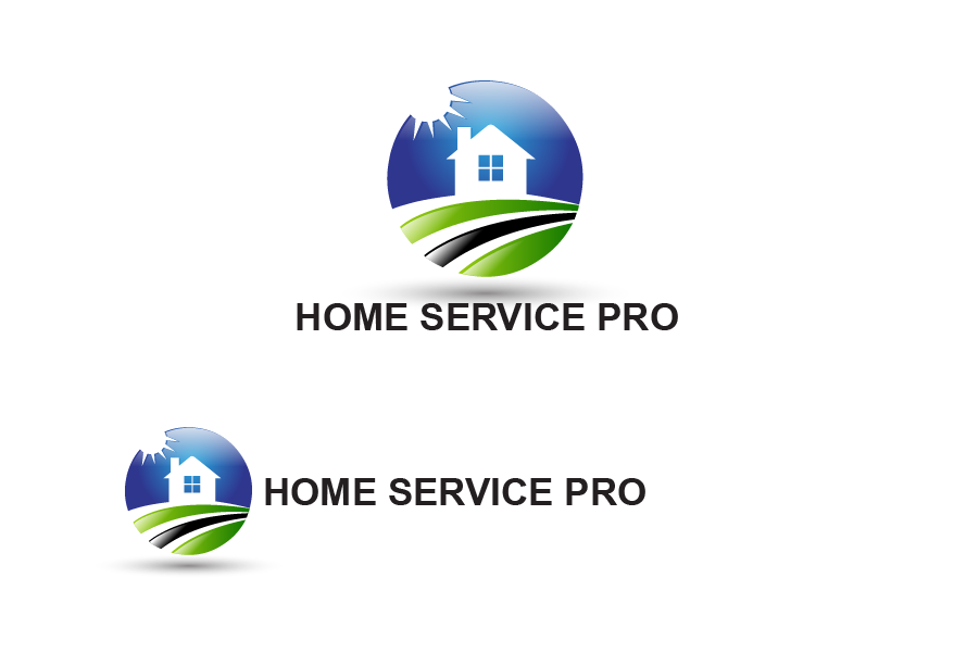 Logo Design by Private User - Entry No. 51 in the Logo Design Contest Captivating Logo Design for Home Services Pro   / HomeServicesPro.com.