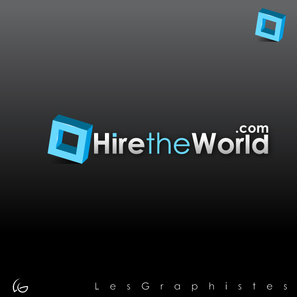 Logo Design by Les-Graphistes - Entry No. 257 in the Logo Design Contest Hiretheworld.com.