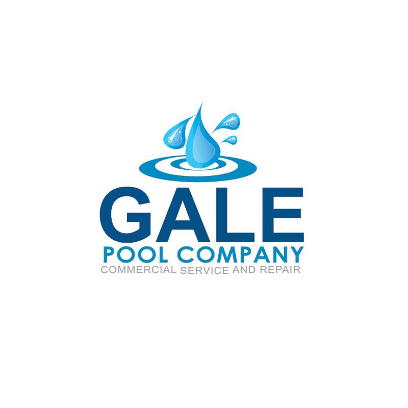 Logo Design by Private User - Entry No. 55 in the Logo Design Contest Imaginative Logo Design for Gale Pool Company.
