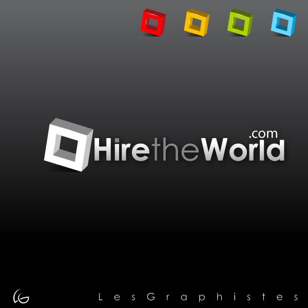 Logo Design by Les-Graphistes - Entry No. 259 in the Logo Design Contest Hiretheworld.com.