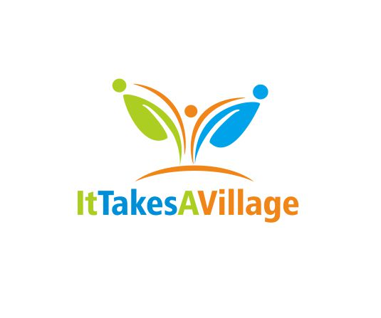 Logo Design by ronny - Entry No. 58 in the Logo Design Contest Captivating Logo Design for It Takes A Village.