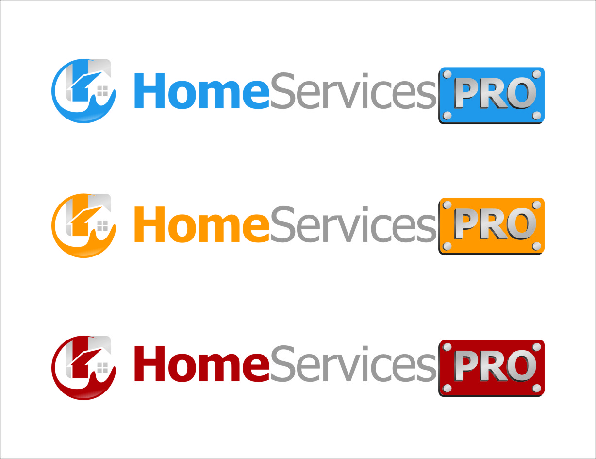Logo Design by RasYa Muhammad Athaya - Entry No. 62 in the Logo Design Contest Captivating Logo Design for Home Services Pro   / HomeServicesPro.com.