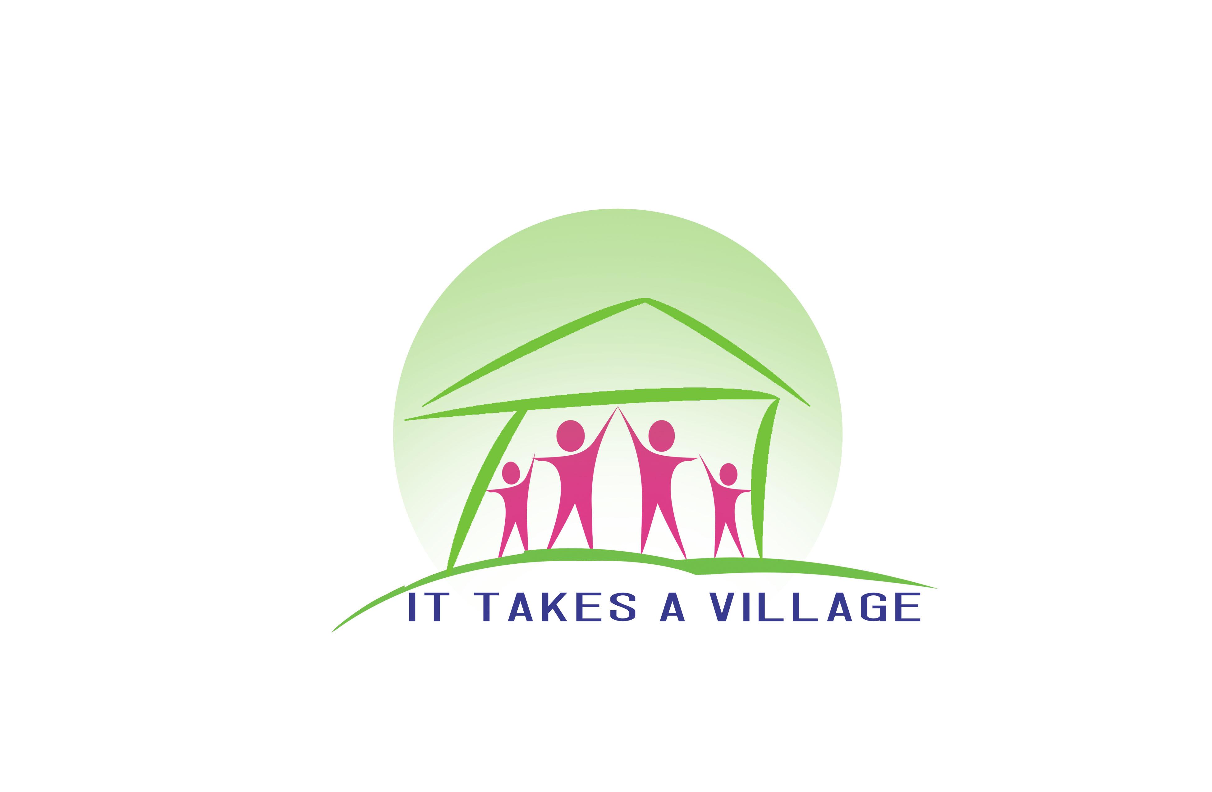 Logo Design by Alan Esclamado - Entry No. 62 in the Logo Design Contest Captivating Logo Design for It Takes A Village.