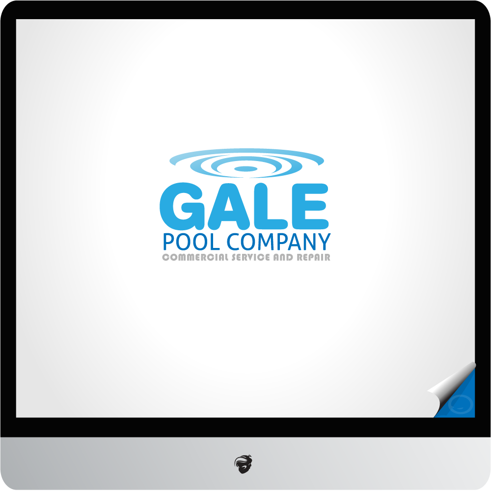 Logo Design by zesthar - Entry No. 61 in the Logo Design Contest Imaginative Logo Design for Gale Pool Company.