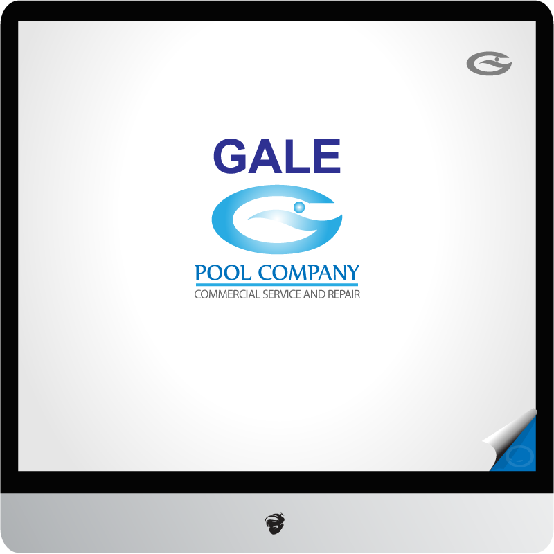 Logo Design by zesthar - Entry No. 62 in the Logo Design Contest Imaginative Logo Design for Gale Pool Company.