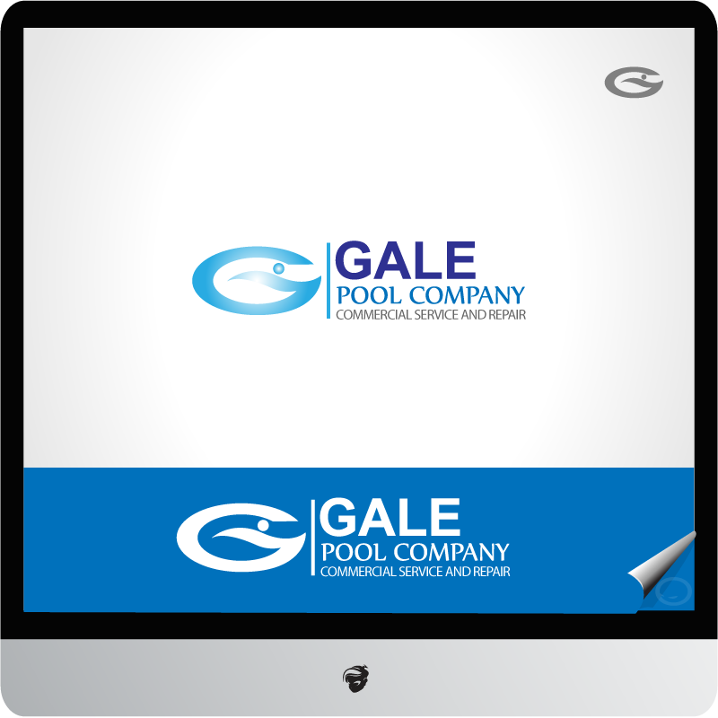 Logo Design by zesthar - Entry No. 63 in the Logo Design Contest Imaginative Logo Design for Gale Pool Company.