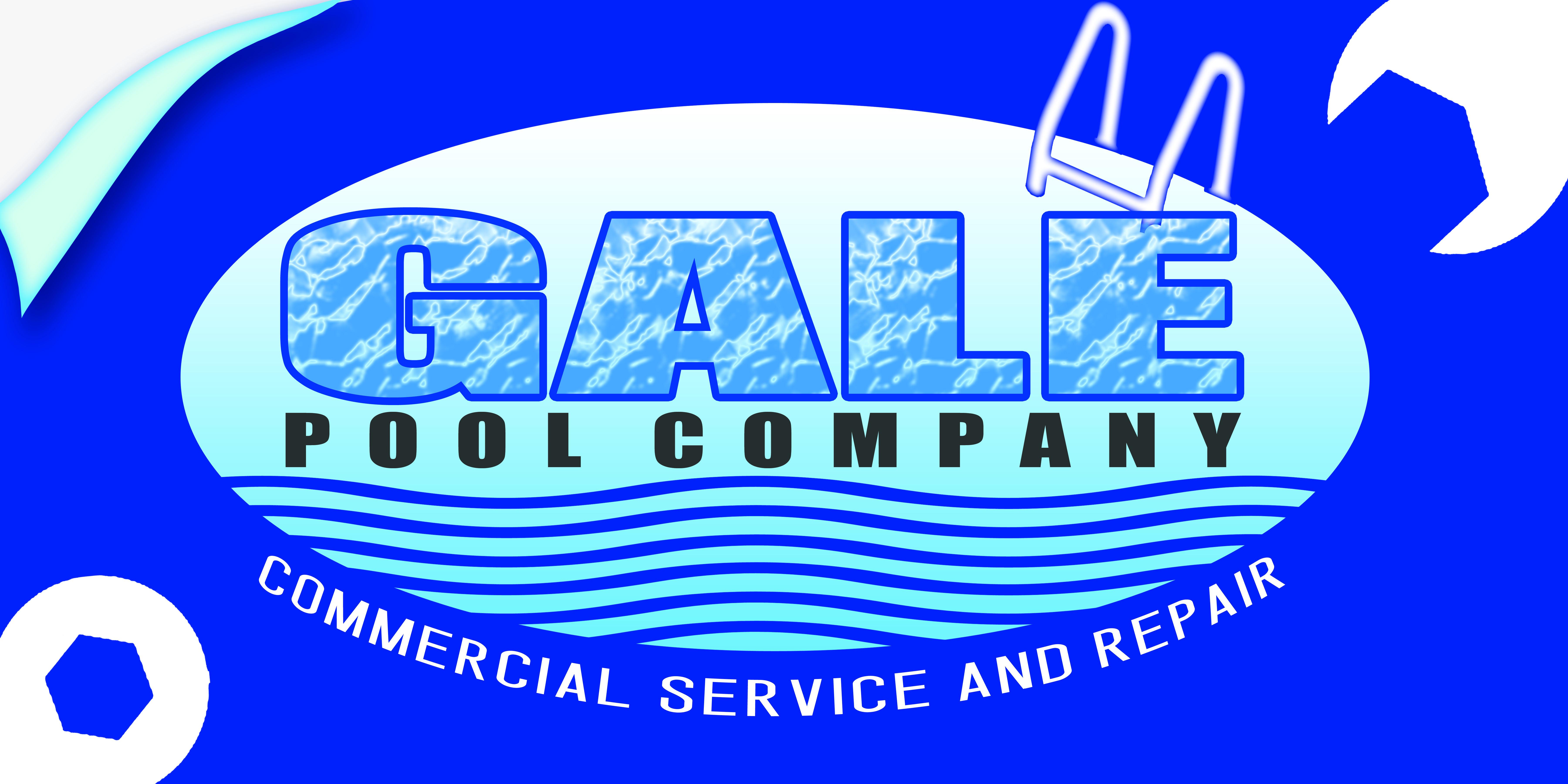 Logo Design by Alan Esclamado - Entry No. 64 in the Logo Design Contest Imaginative Logo Design for Gale Pool Company.