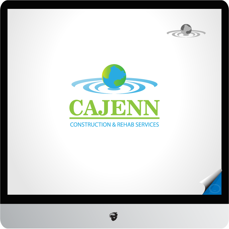 Logo Design by zesthar - Entry No. 4 in the Logo Design Contest New Logo Design for CaJenn Construction & Rehab Services.
