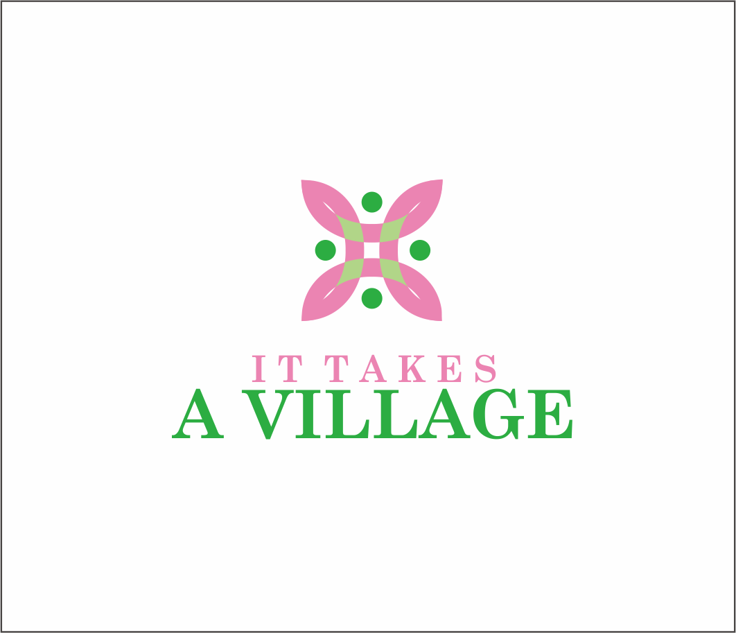 Logo Design by Armada Jamaluddin - Entry No. 65 in the Logo Design Contest Captivating Logo Design for It Takes A Village.