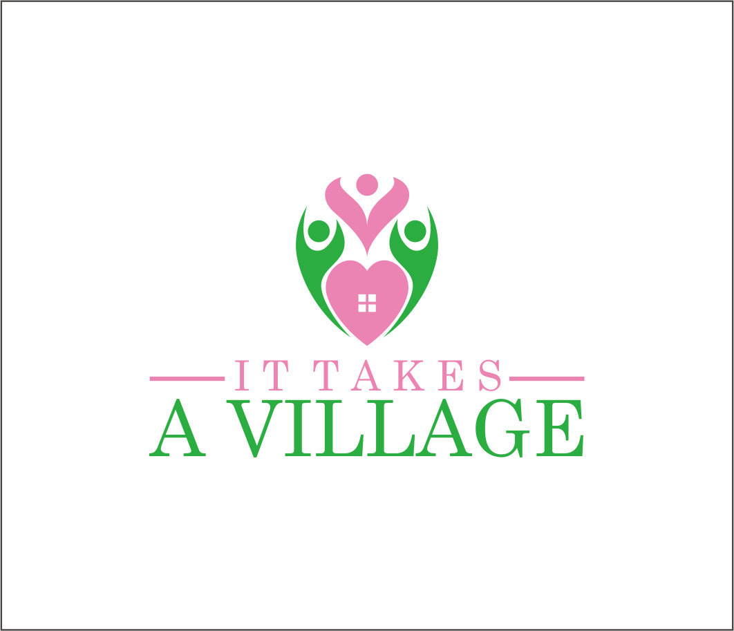Logo Design by Armada Jamaluddin - Entry No. 68 in the Logo Design Contest Captivating Logo Design for It Takes A Village.