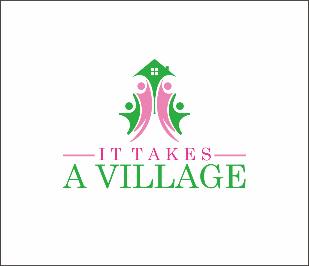 Logo Design by Armada Jamaluddin - Entry No. 70 in the Logo Design Contest Captivating Logo Design for It Takes A Village.
