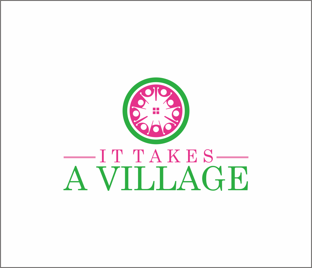 Logo Design by Armada Jamaluddin - Entry No. 71 in the Logo Design Contest Captivating Logo Design for It Takes A Village.
