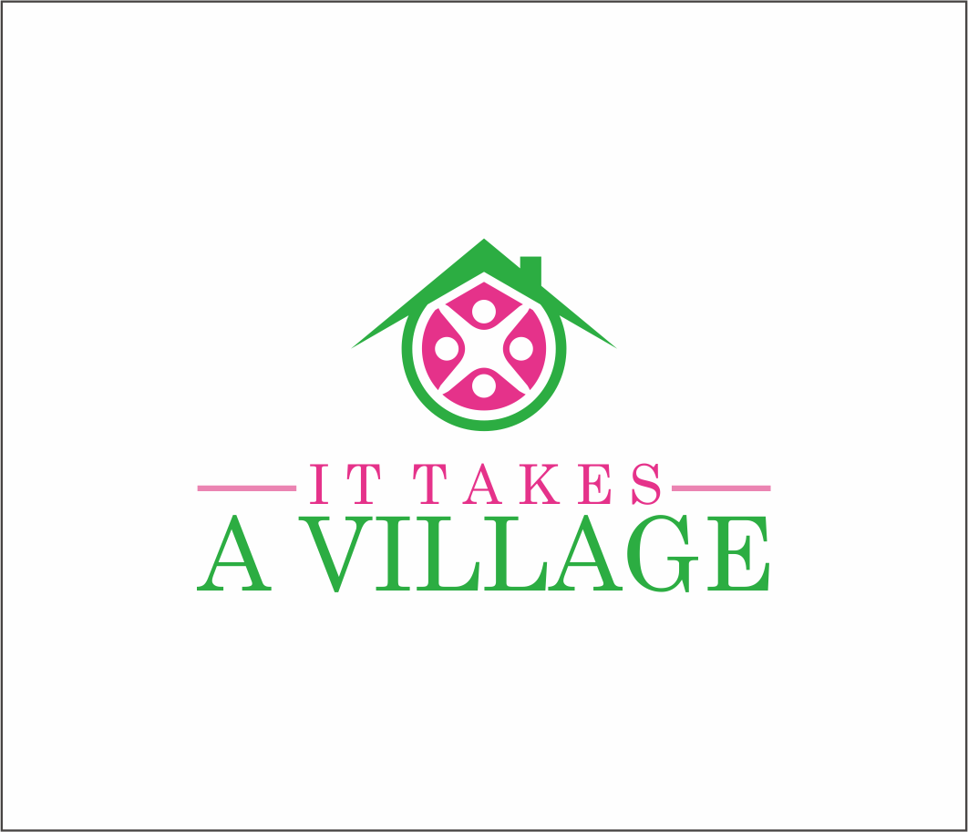 Logo Design by Armada Jamaluddin - Entry No. 72 in the Logo Design Contest Captivating Logo Design for It Takes A Village.