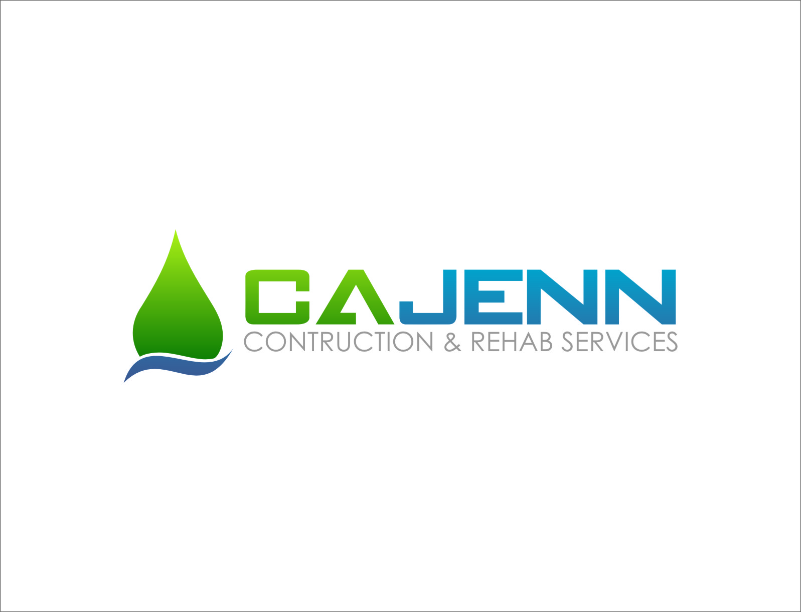 Logo Design by Ngepet_art - Entry No. 9 in the Logo Design Contest New Logo Design for CaJenn Construction & Rehab Services.