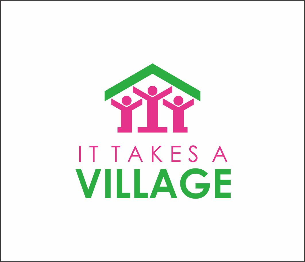 Logo Design by Armada Jamaluddin - Entry No. 73 in the Logo Design Contest Captivating Logo Design for It Takes A Village.