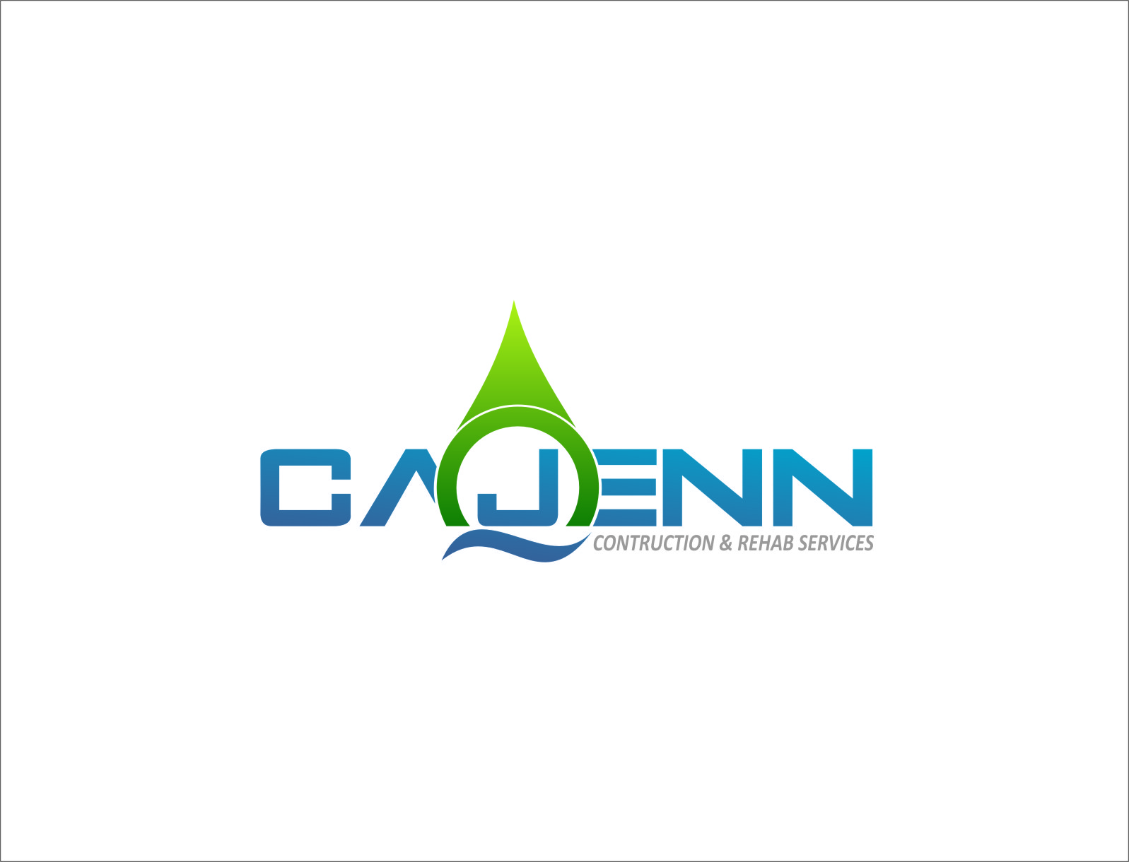 Logo Design by RasYa Muhammad Athaya - Entry No. 10 in the Logo Design Contest New Logo Design for CaJenn Construction & Rehab Services.