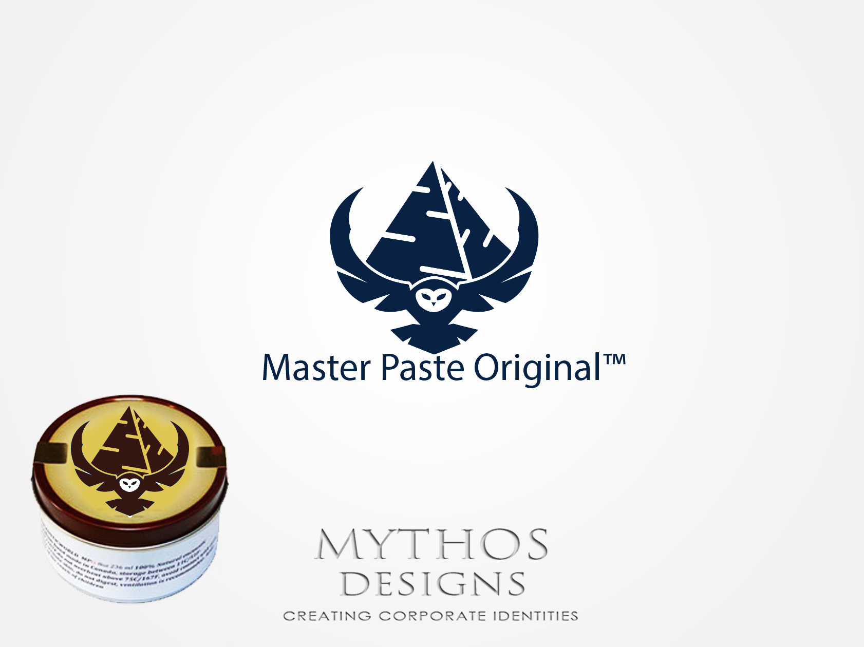 Logo Design by Mythos Designs - Entry No. 9 in the Logo Design Contest Unique Logo Design Wanted for Master Paste Original™.