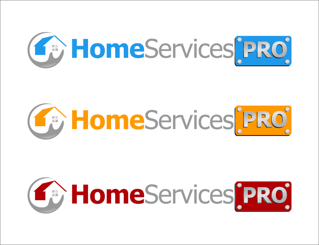 Logo Design by RoSyid Rono-Rene On Java - Entry No. 65 in the Logo Design Contest Captivating Logo Design for Home Services Pro   / HomeServicesPro.com.