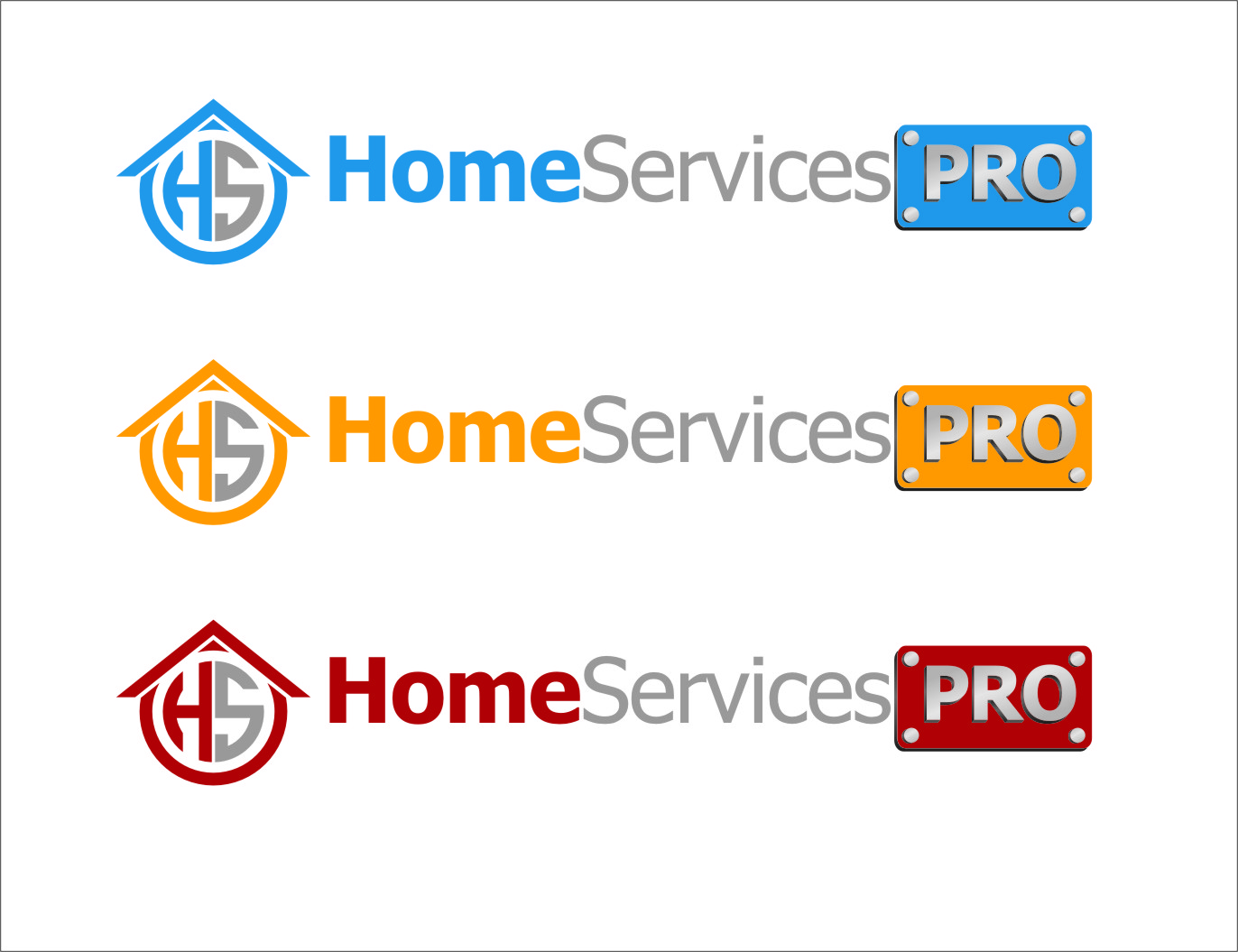 Logo Design by RasYa Muhammad Athaya - Entry No. 67 in the Logo Design Contest Captivating Logo Design for Home Services Pro   / HomeServicesPro.com.