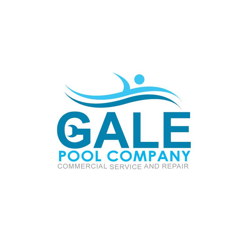 Logo Design by Private User - Entry No. 72 in the Logo Design Contest Imaginative Logo Design for Gale Pool Company.