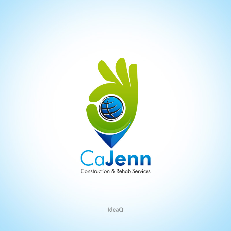 Logo Design by Private User - Entry No. 11 in the Logo Design Contest New Logo Design for CaJenn Construction & Rehab Services.