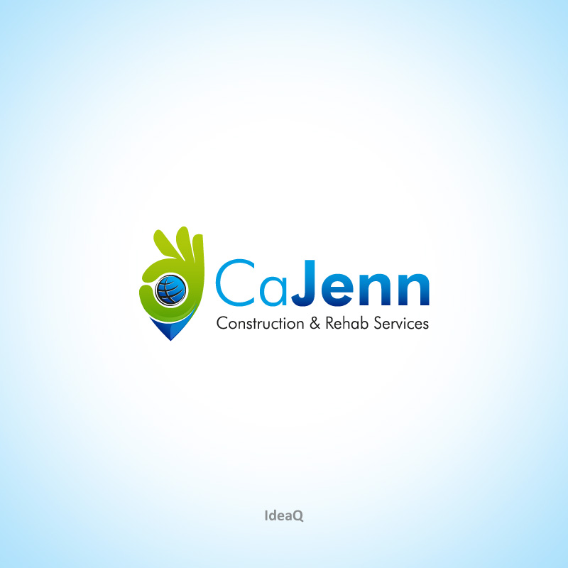 Logo Design by Private User - Entry No. 12 in the Logo Design Contest New Logo Design for CaJenn Construction & Rehab Services.