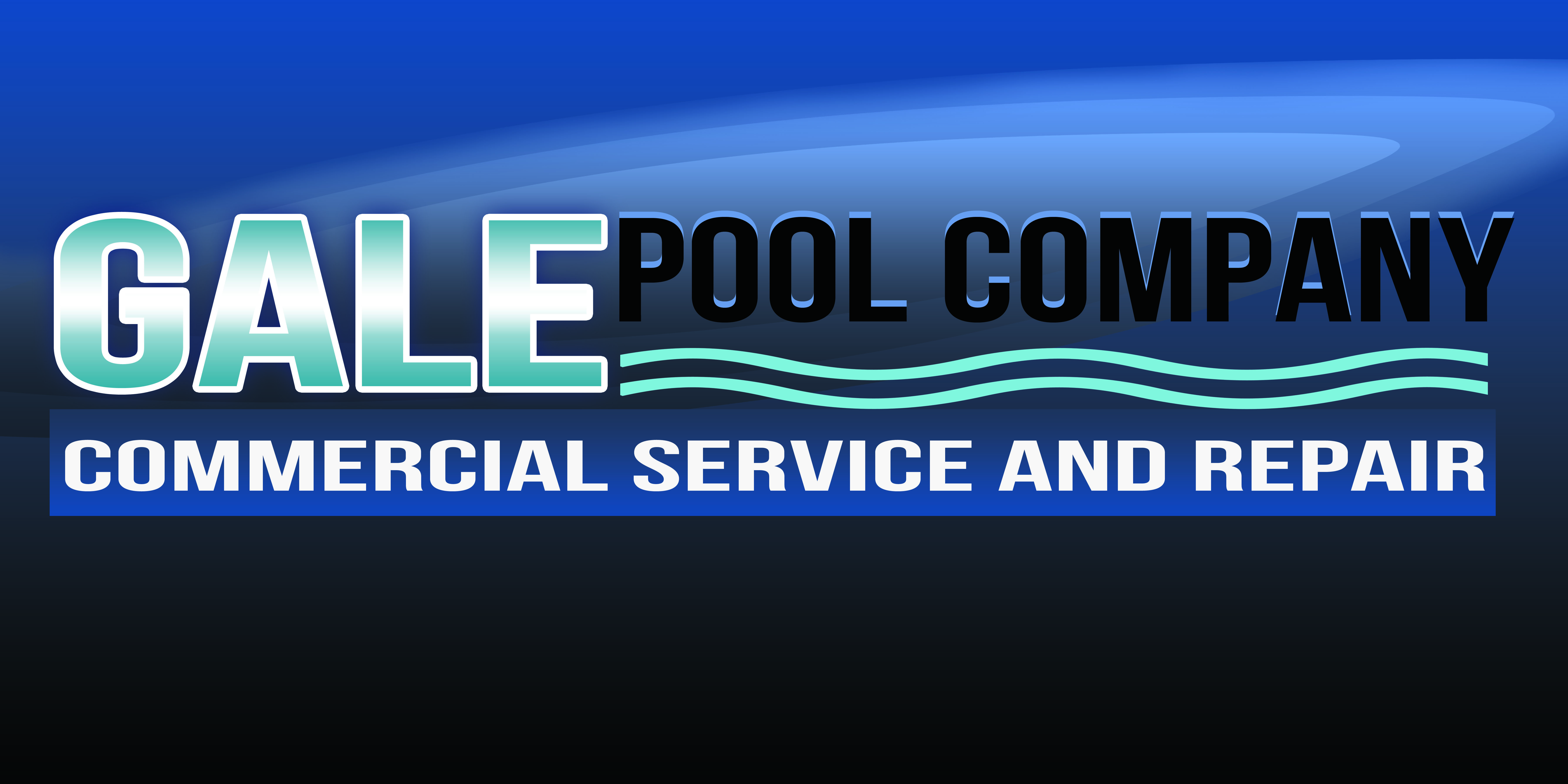 Logo Design by Alan Esclamado - Entry No. 74 in the Logo Design Contest Imaginative Logo Design for Gale Pool Company.
