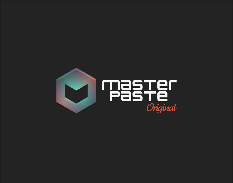 Logo Design by Jorge Sardon - Entry No. 10 in the Logo Design Contest Unique Logo Design Wanted for Master Paste Original™.