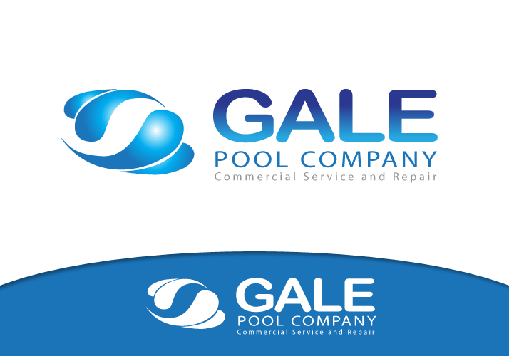 Logo Design by Jan Chua - Entry No. 75 in the Logo Design Contest Imaginative Logo Design for Gale Pool Company.
