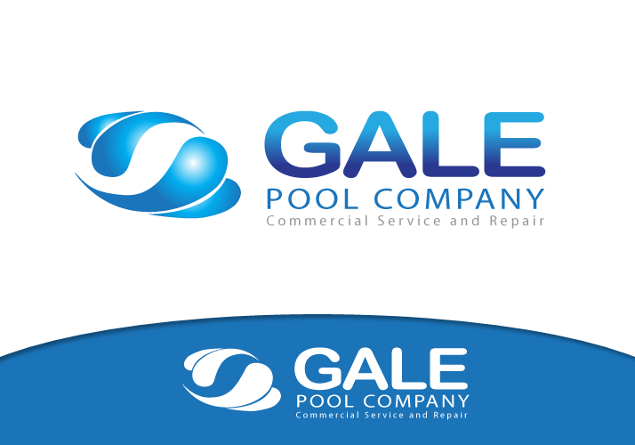 Logo Design by Jan Chua - Entry No. 76 in the Logo Design Contest Imaginative Logo Design for Gale Pool Company.