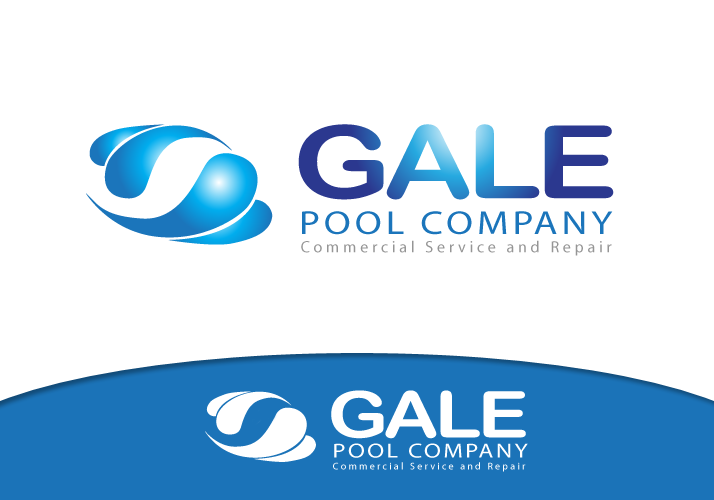 Logo Design by Jan Chua - Entry No. 77 in the Logo Design Contest Imaginative Logo Design for Gale Pool Company.