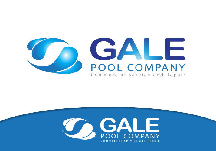 Logo Design by Jan Chua - Entry No. 78 in the Logo Design Contest Imaginative Logo Design for Gale Pool Company.