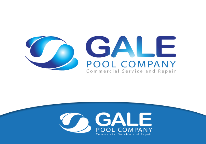 Logo Design by Jan Chua - Entry No. 79 in the Logo Design Contest Imaginative Logo Design for Gale Pool Company.