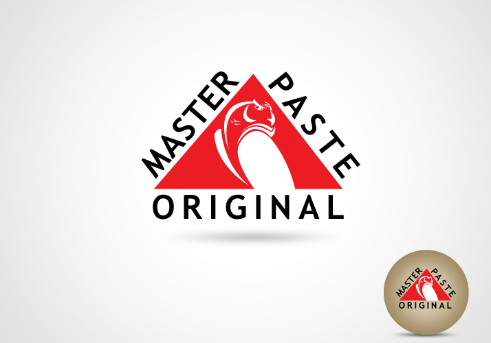 Logo Design by Jan Chua - Entry No. 11 in the Logo Design Contest Unique Logo Design Wanted for Master Paste Original™.