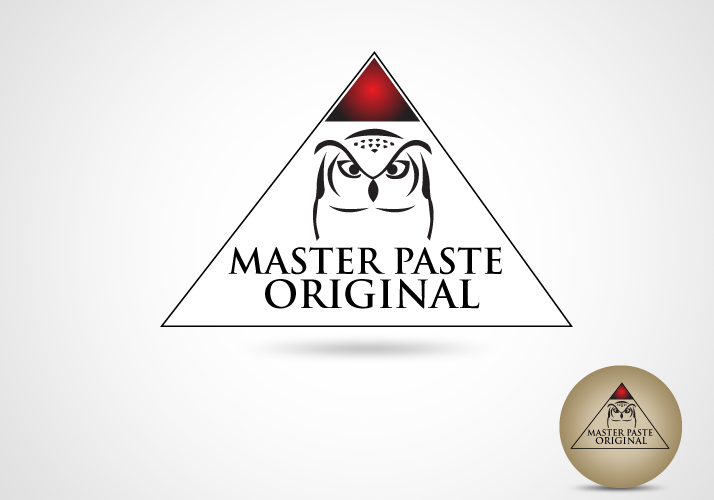 Logo Design by Jan Chua - Entry No. 12 in the Logo Design Contest Unique Logo Design Wanted for Master Paste Original™.