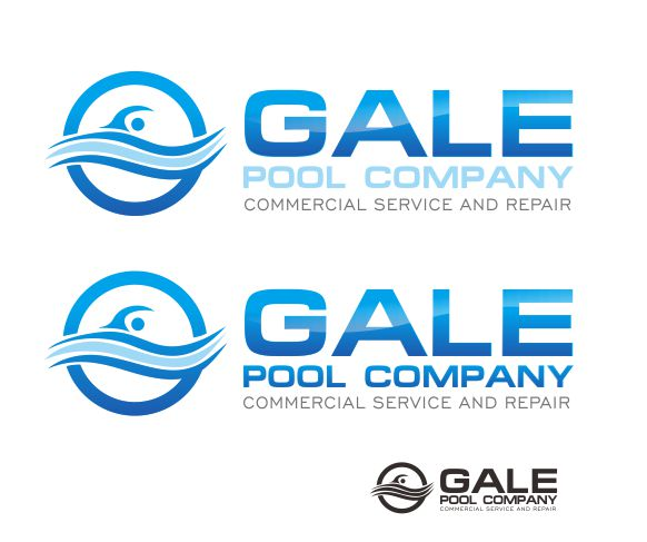Logo Design by ronny - Entry No. 81 in the Logo Design Contest Imaginative Logo Design for Gale Pool Company.