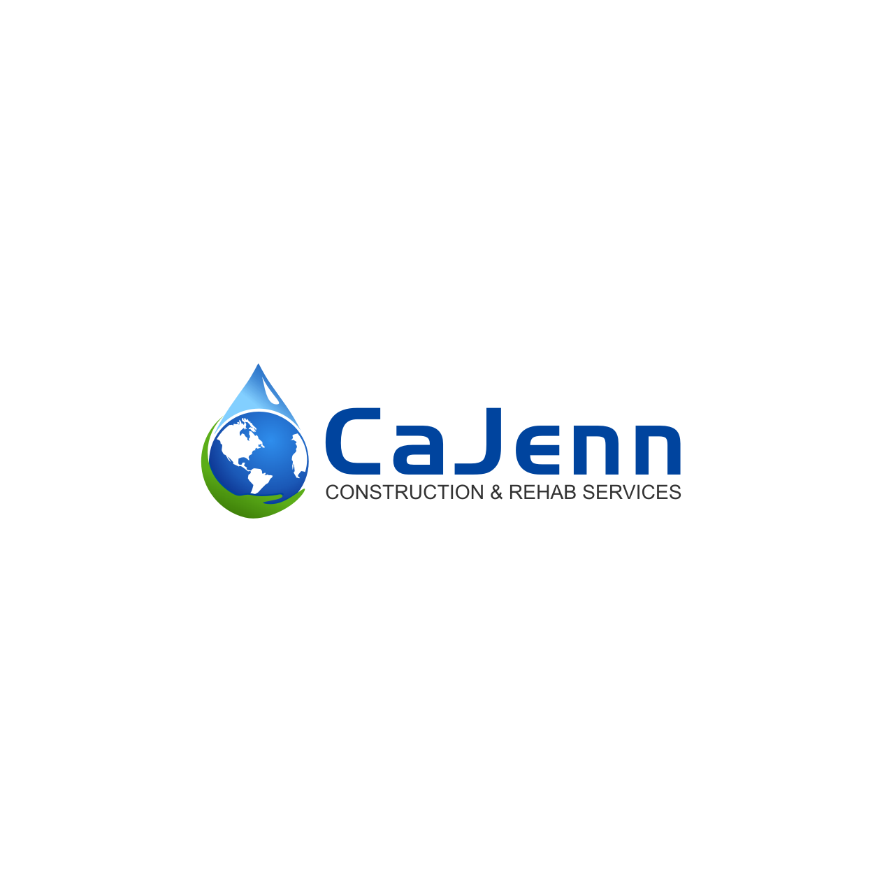 Logo Design by rifatz - Entry No. 13 in the Logo Design Contest New Logo Design for CaJenn Construction & Rehab Services.
