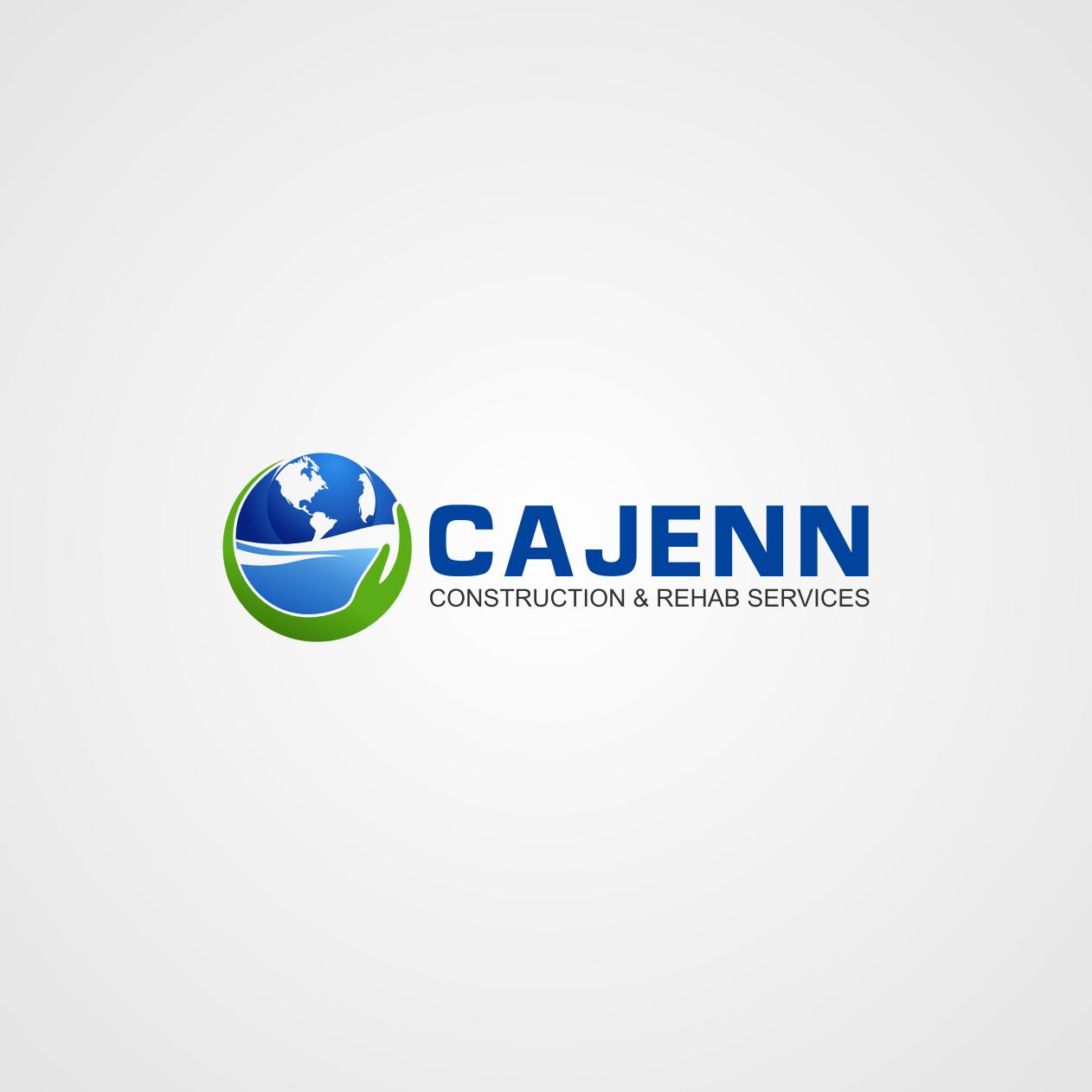 Logo Design by rifatz - Entry No. 14 in the Logo Design Contest New Logo Design for CaJenn Construction & Rehab Services.