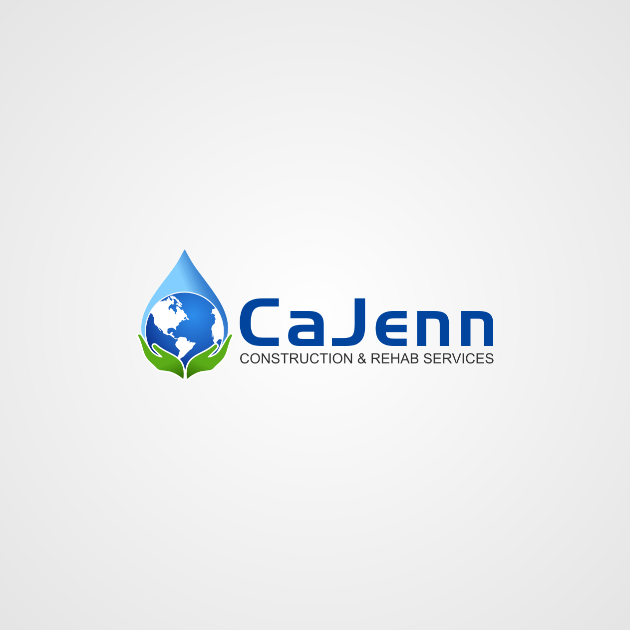 Logo Design by rifatz - Entry No. 16 in the Logo Design Contest New Logo Design for CaJenn Construction & Rehab Services.