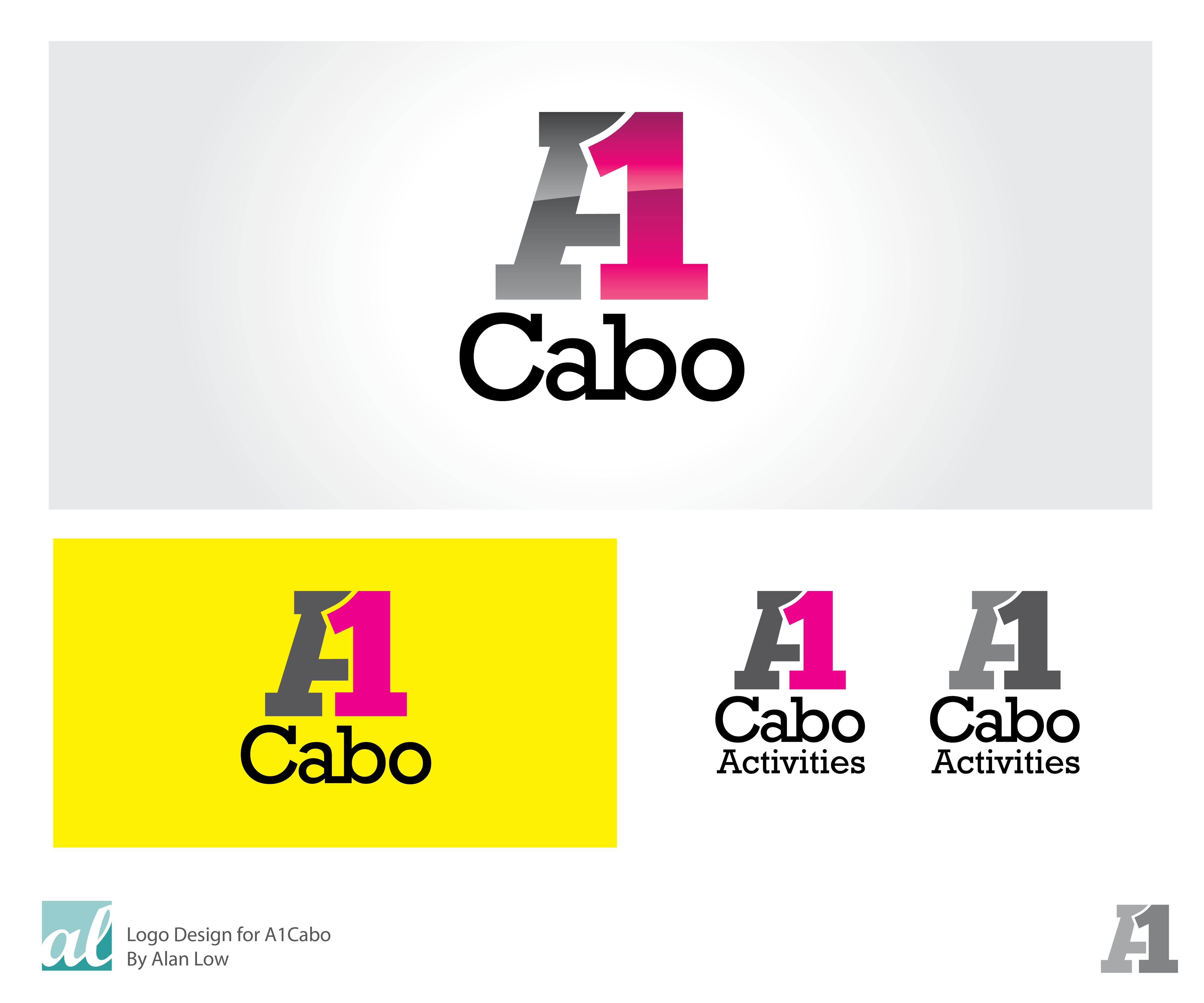 Logo Design by Alan Low - Entry No. 50 in the Logo Design Contest Inspiring Logo Design for A1Cabo.com.
