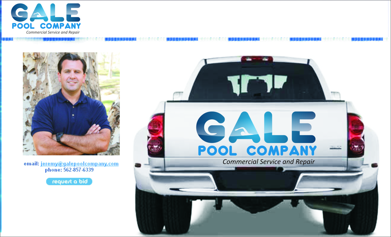 Logo Design by RasYa Muhammad Athaya - Entry No. 85 in the Logo Design Contest Imaginative Logo Design for Gale Pool Company.
