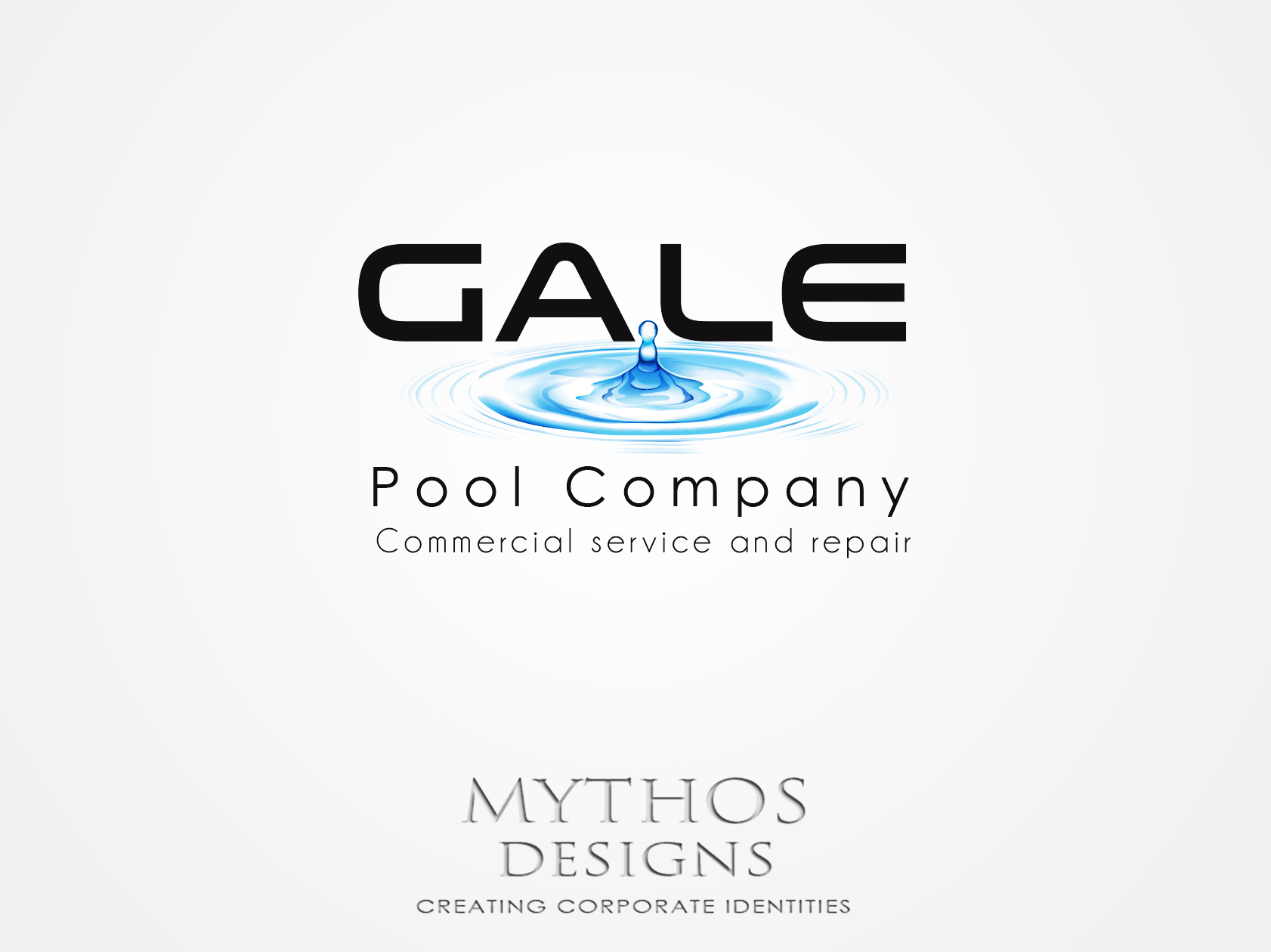 Logo Design by Mythos Designs - Entry No. 93 in the Logo Design Contest Imaginative Logo Design for Gale Pool Company.
