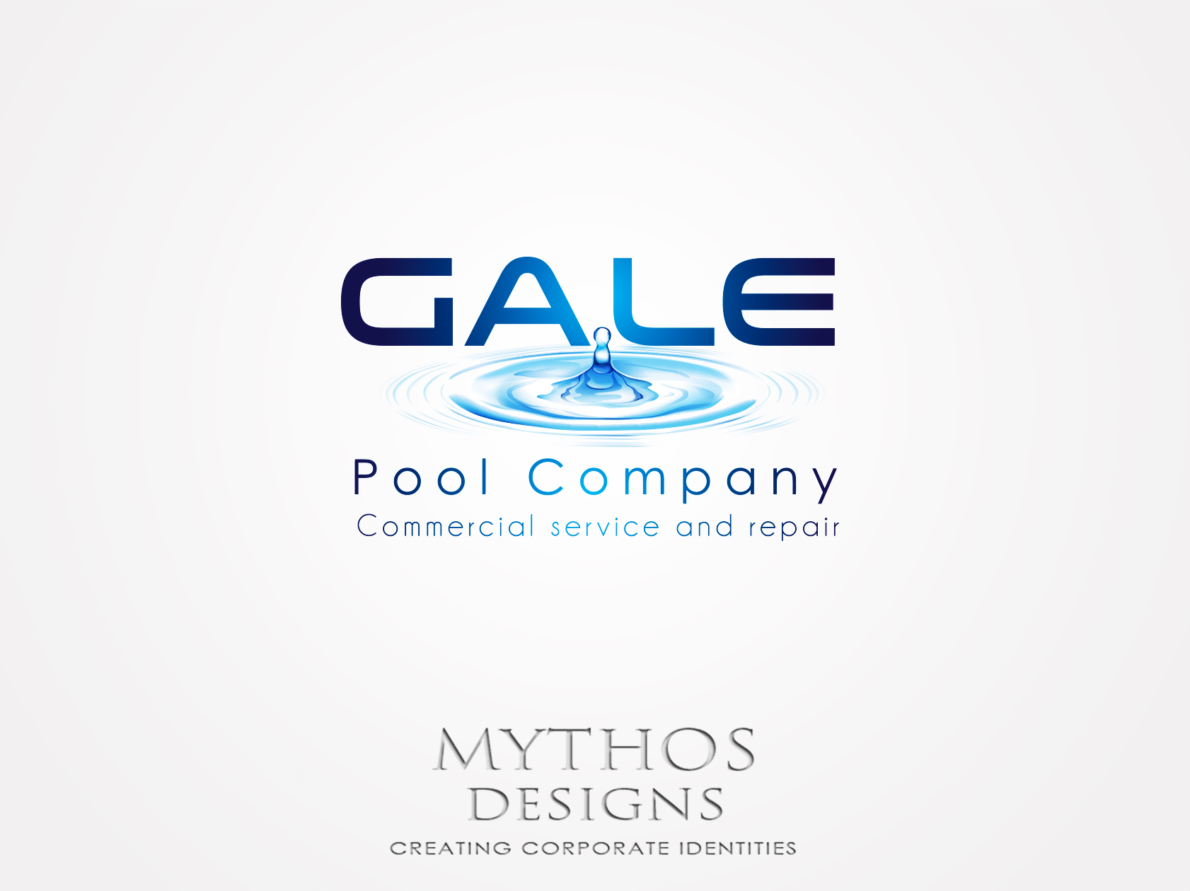 Logo Design by Mythos Designs - Entry No. 94 in the Logo Design Contest Imaginative Logo Design for Gale Pool Company.
