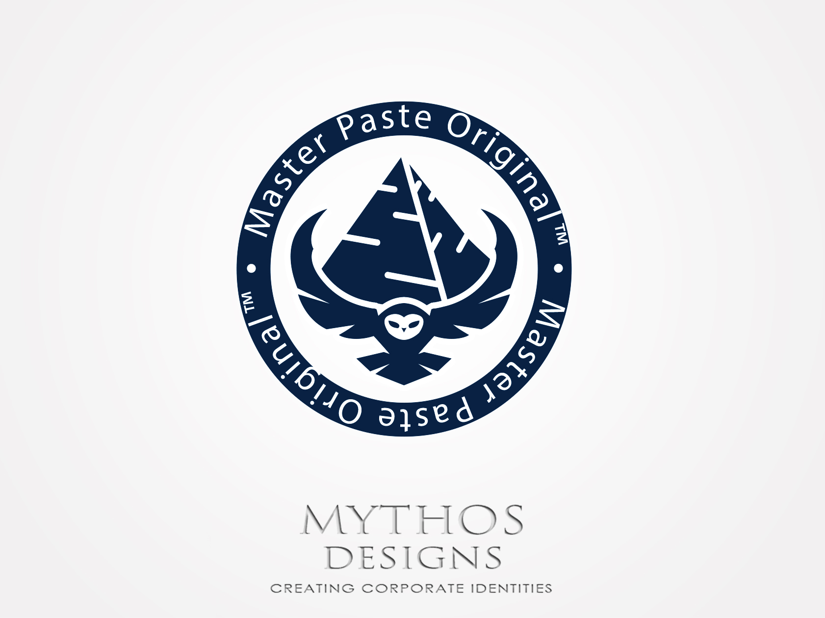 Logo Design by Mythos Designs - Entry No. 15 in the Logo Design Contest Unique Logo Design Wanted for Master Paste Original™.