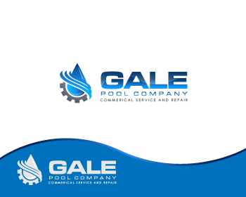 Logo Design by Private User - Entry No. 96 in the Logo Design Contest Imaginative Logo Design for Gale Pool Company.