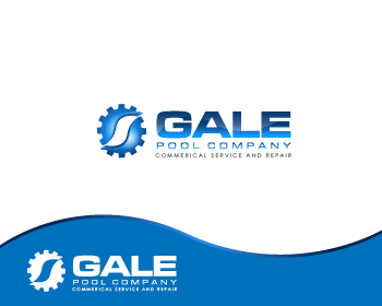 Logo Design by Private User - Entry No. 97 in the Logo Design Contest Imaginative Logo Design for Gale Pool Company.