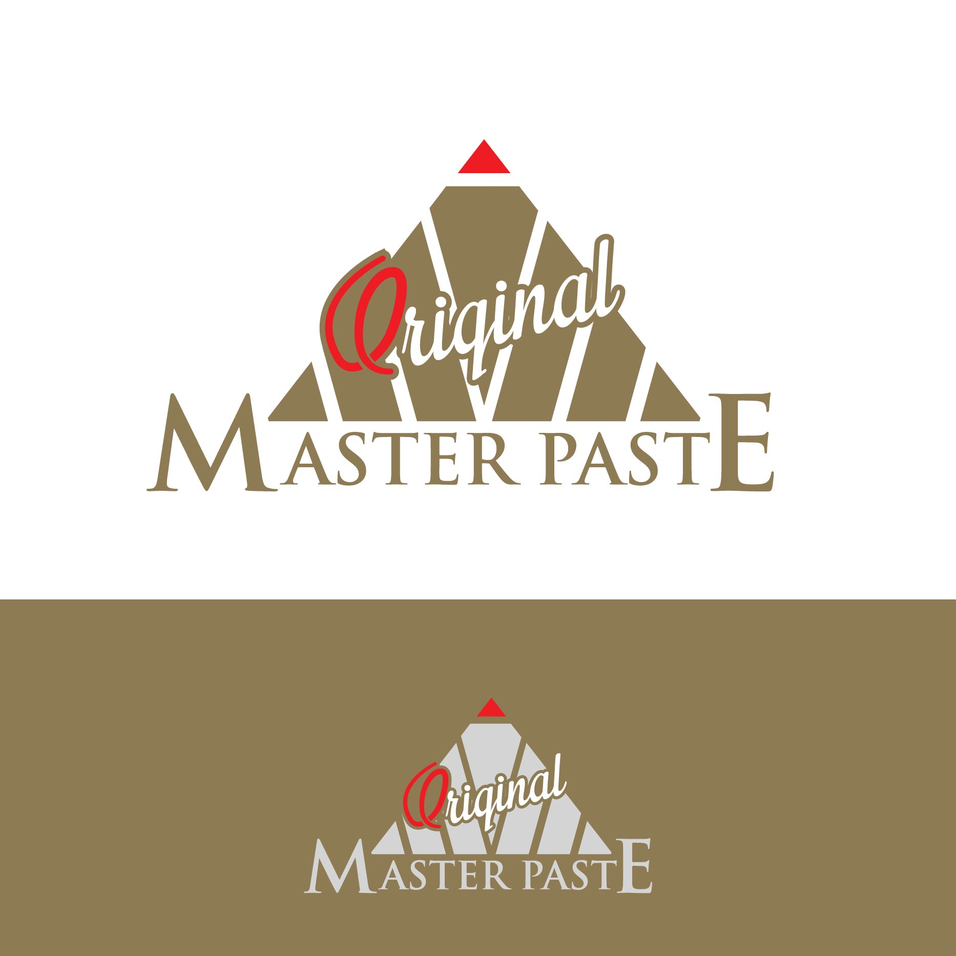 Logo Design by lagalag - Entry No. 17 in the Logo Design Contest Unique Logo Design Wanted for Master Paste Original™.
