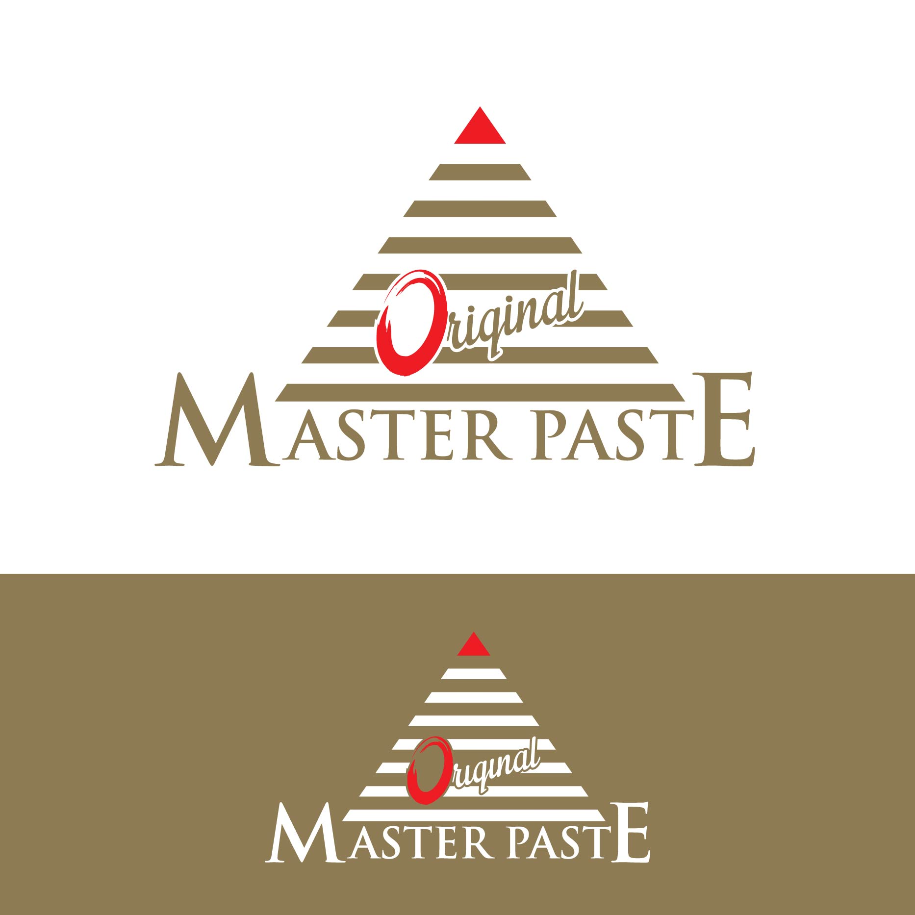 Logo Design by lagalag - Entry No. 18 in the Logo Design Contest Unique Logo Design Wanted for Master Paste Original™.