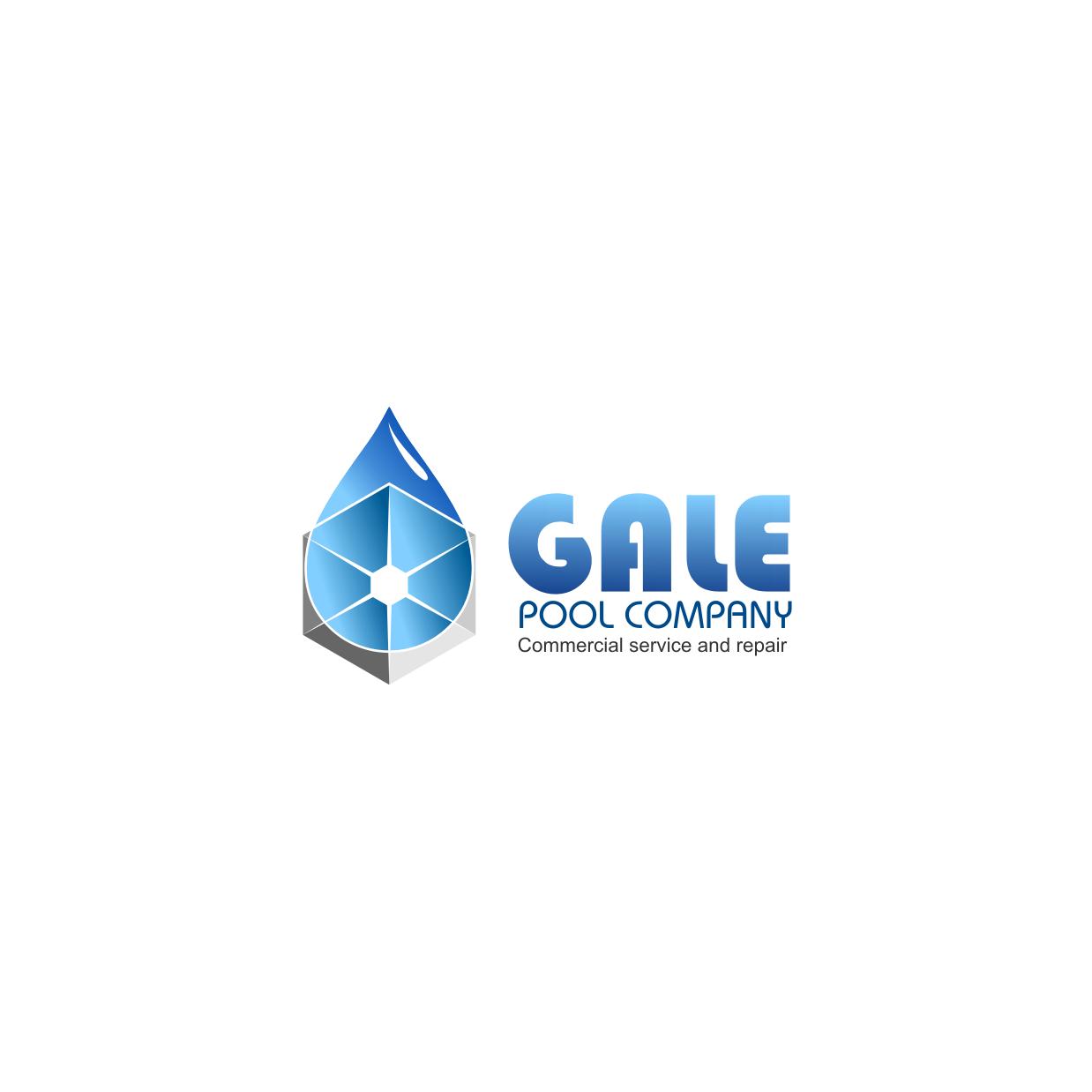 Logo Design by rifatz - Entry No. 100 in the Logo Design Contest Imaginative Logo Design for Gale Pool Company.